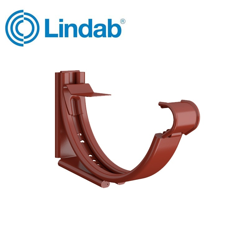 Video of Lindab Round Adjustable Snap-On Bracket 150mm Painted Tile Red