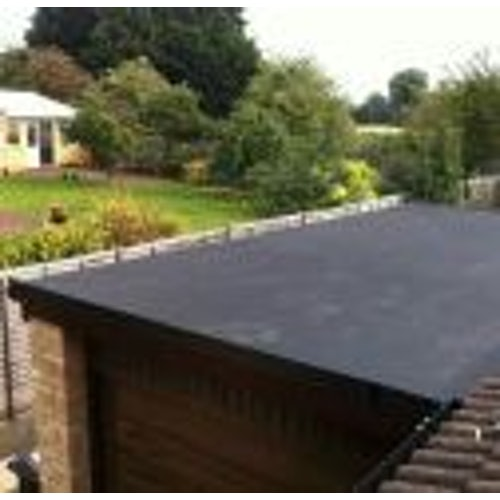 19.6m2 EPDM Single-Ply Rubber Roofing Kit - 5.6m x 3.5m
