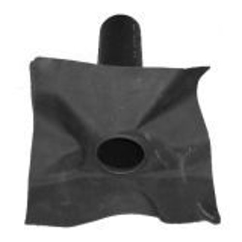 Hertalan EPDM 50mm Rubber Roof Drain Outlet
