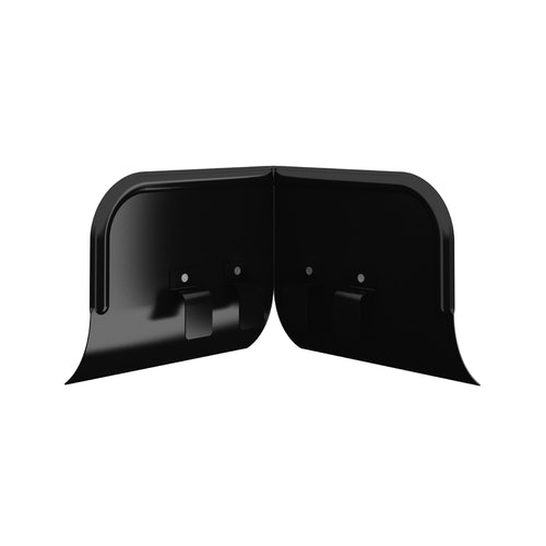 Lindab Half Round Overflow Protector 100mm - 190mm Painted Black
