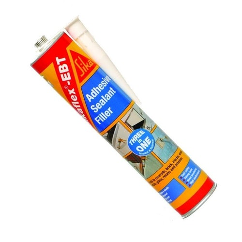 Sikaflex EBT Adhesive Sealant & Filler - White (300ml)