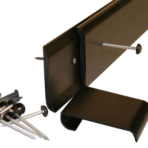 uPVC Gutter Drip Trim for EPDM Roof Systems - 2.5m Length