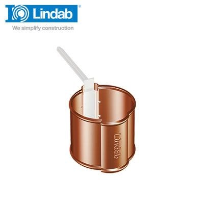 Video of Lindab Round Downpipe Pipe Holder 87mm Painted Tile Red