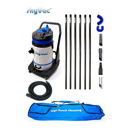 SkyVac 75 Commercial High Reach Inspection and Cleaning System - 9m