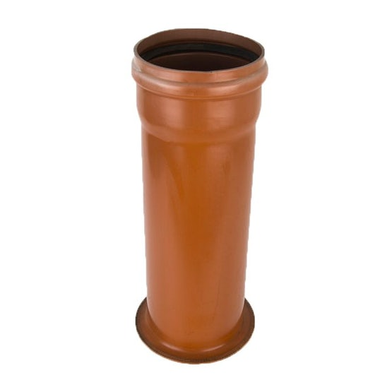 Plastic Guttering Industrial Downpipe to Cast Iron Connector 200mm