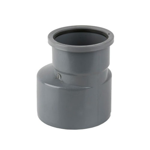 Guttering Industrial Downpipe 110mm to 160mm Connector Adaptor - Grey