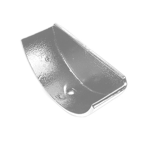 Cast Aluminium Guttering Half Round Internal Stop End 125mm - Plain