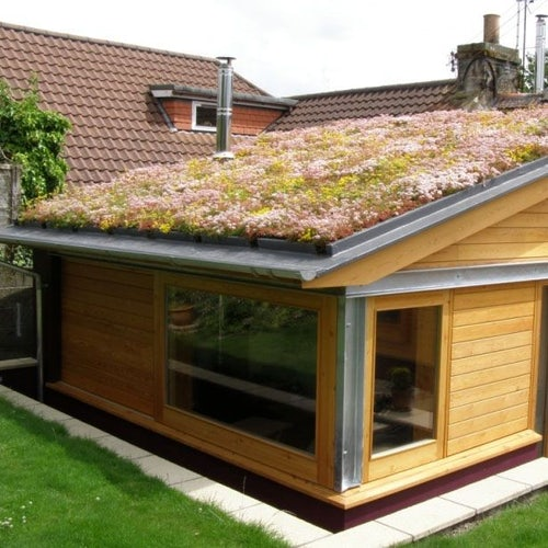 Green Roofing Sedum Blanket Full System 50m2 Kit - Skygarden