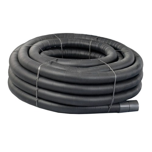 Underground Power Cable Ducting Coil 40/50mm x 50m Black Electric