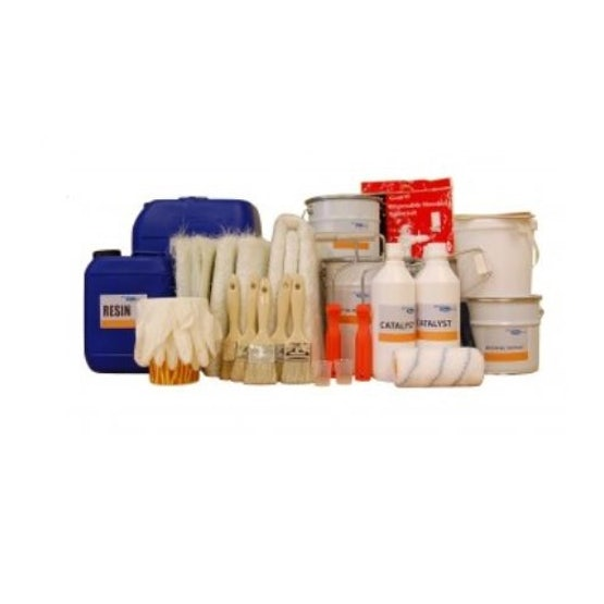 Drainage Superstore Complete Fibreglass Roofing Kit - 50m2