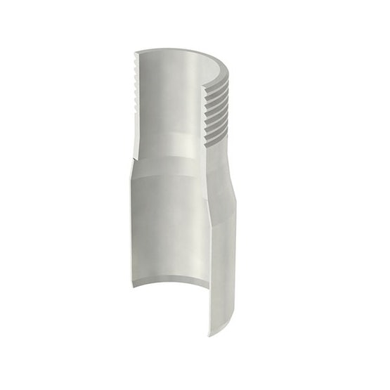 ACO Stainless Steel Pipe Connector with External Screw Thread - 50mm