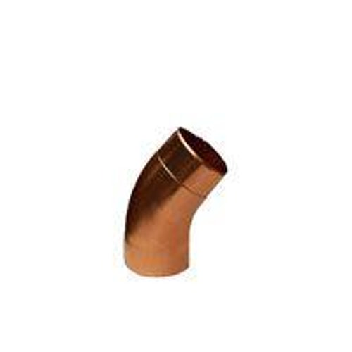 Copper Guttering Round Downpipe 40dg Bend 80mm