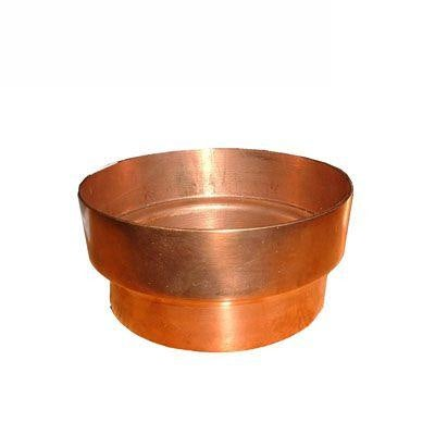 Copper Guttering Downpipe Connector 100mm