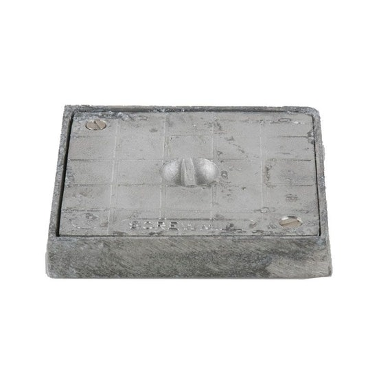 Square Alloy Sealing Plate - 160mm x 160mm