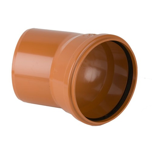 Underground Sewer Pipe Single Socket Bend 30 Degree - 315mm