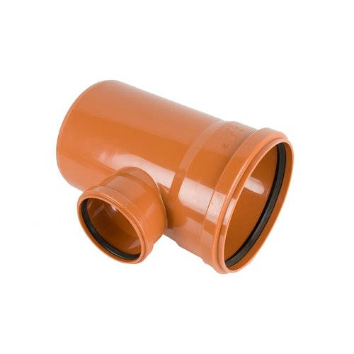 Underground Sewer Pipe Double Socket Branch 87.5 Degree -250mm x 110mm