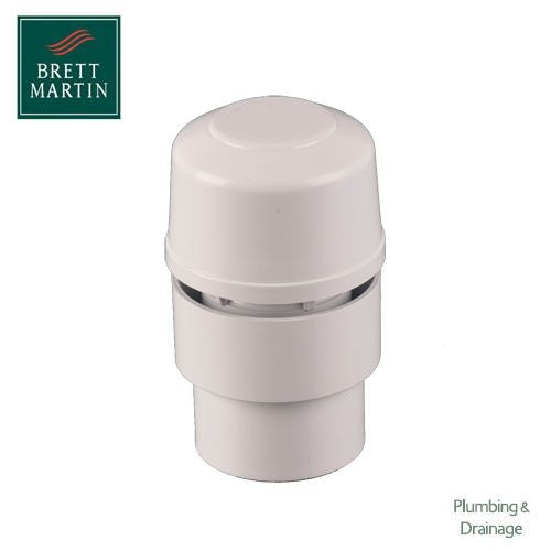Air Admittance Valve 50mm Push-fit Waste Pipe