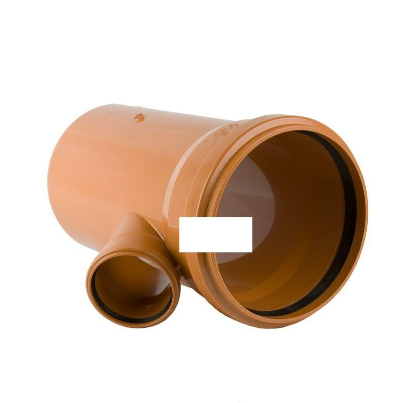 Underground Sewer Pipe Double Socket Branch 45 Degree - 315mm x 110mm