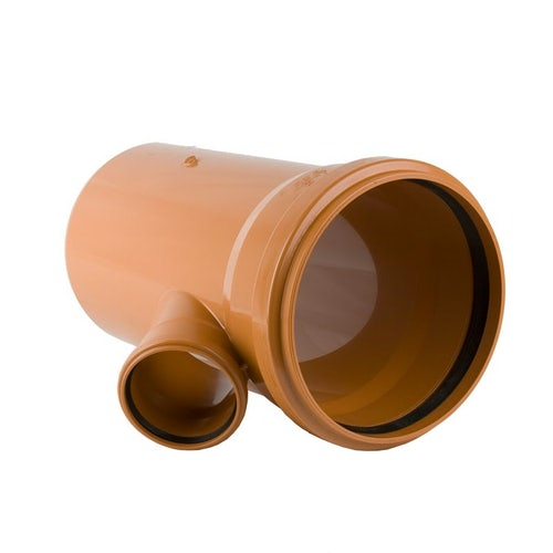 Underground Sewer Pipe Double Socket Branch 45 Degree - 400mm x 110mm