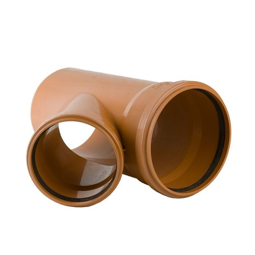 Underground Sewer Pipe Double Socket Branch 45 Degree - 250mm x 160mm