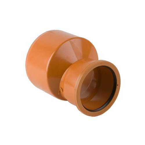 Underground Pipe Single Socket Level Invert Reducer 400mm - 315mm
