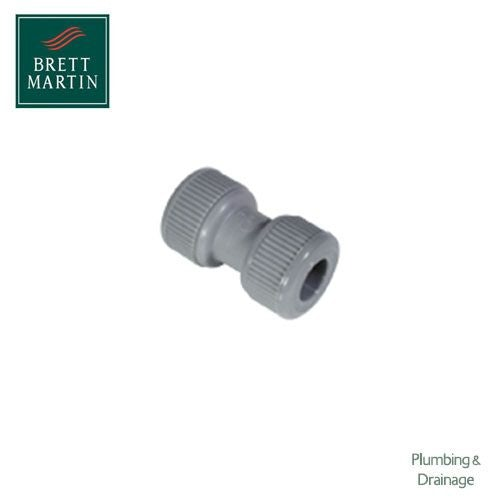 Plumbfit Hot and Cold Straight Coupler - 22mm
