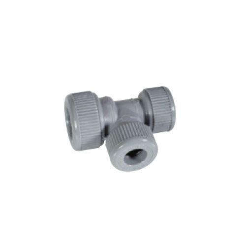 Plumbfit Hot and Cold Polybutylene Unequal Tees - 15mm x 10mm x 15mm
