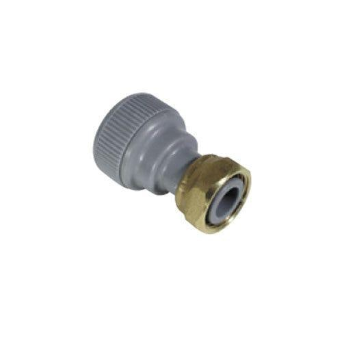 Plumbfit Hot and Cold Polybutylene Straight Tap Connector - 22mm