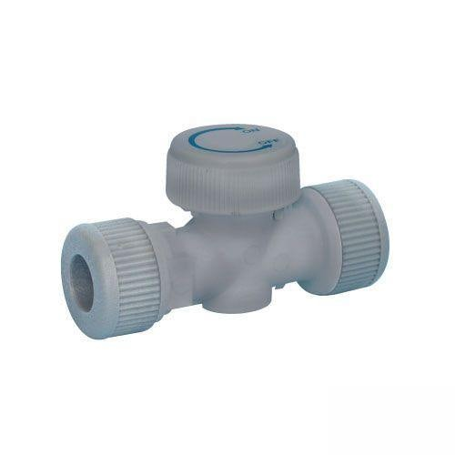 Plumbfit Hot and Cold Isolating Valve - 15mm Red