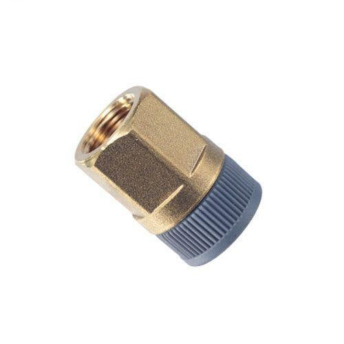Plumbfit Hot and Cold Brass Female Straight Adaptor - 22mm x 1/2