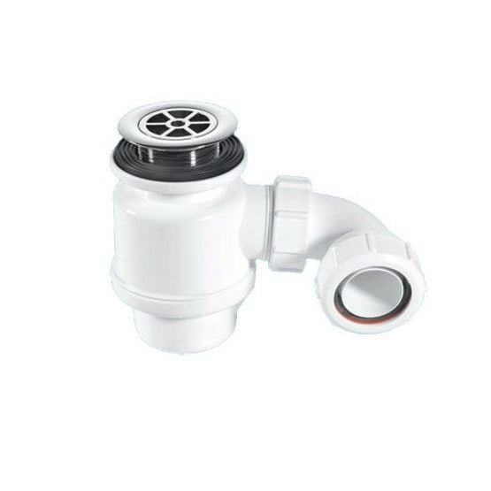 Shower Drainage Channel Foul Air Trap 50mm or 40mm Water Seal