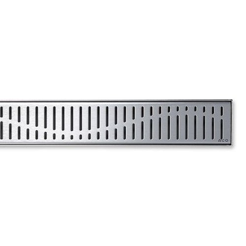 ACO Tiled Shower Channel Drainage Wave Grating 900mm