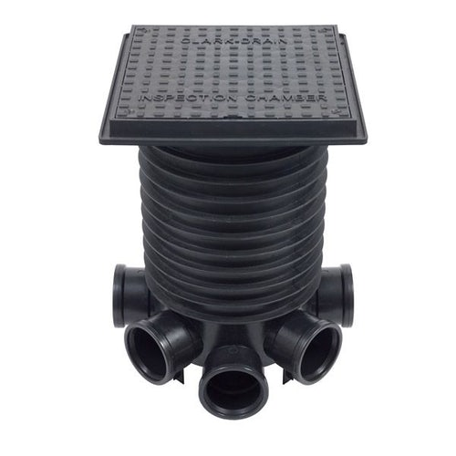 Manhole Cover and Frame Plastic 438L x 438W x 37H - 35kN