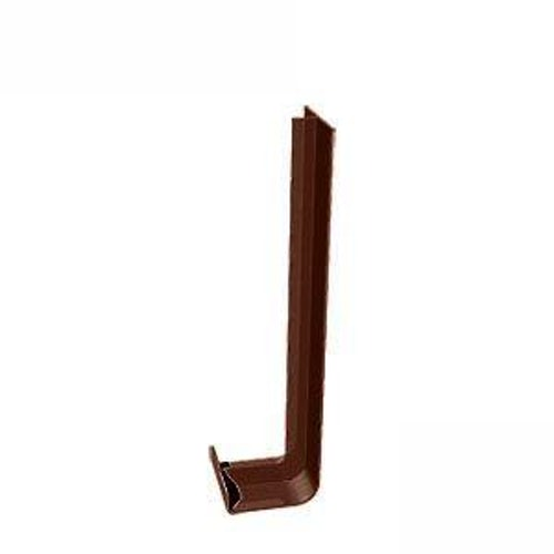 uPVC Fascia Board Joiner (Square Edge) 300mm - Brown