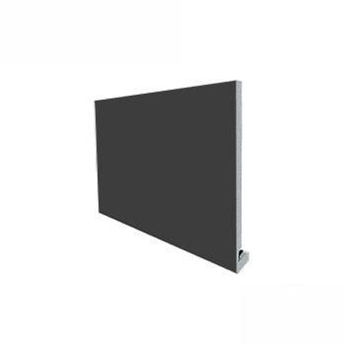 uPVC 175mm Replacement Fascia Board (18mm Square Edge) 5m - Dark Grey