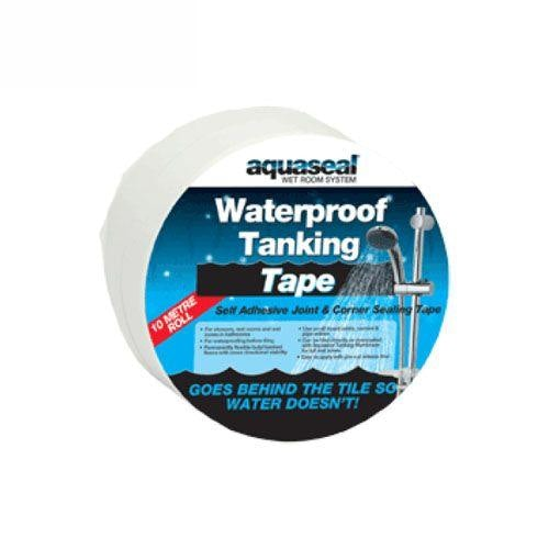 Video of Aquaseal Wet Room System Waterproof Tanking Tape - 5 Meter Roll