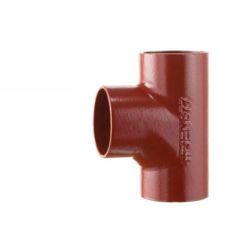 Cast Iron Soil Pipe 88 Degree Single Equal Branches 70mm x 70mm