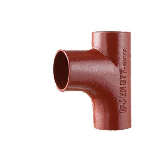 Cast Iron Soil Pipe 88Degree Single Radius Curved Branch 100mm x 100mm