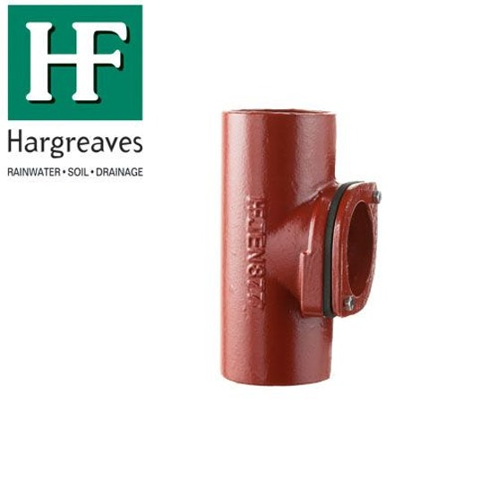 Cast Iron Soil Access Pipe With Round Door 70mm