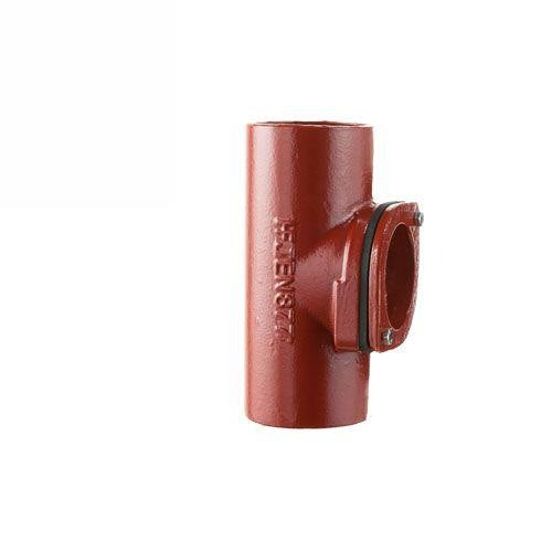 Cast Iron Soil Access Pipe With Round Door 100mm