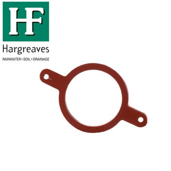 Cast Iron Soil Pipe Stack Support Bracket With Gasket 100mm