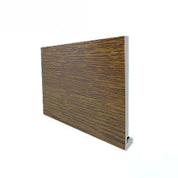 18mm Magnum Square Edged Fascia Board 5m x 150mm - Woodgrain Light Oak