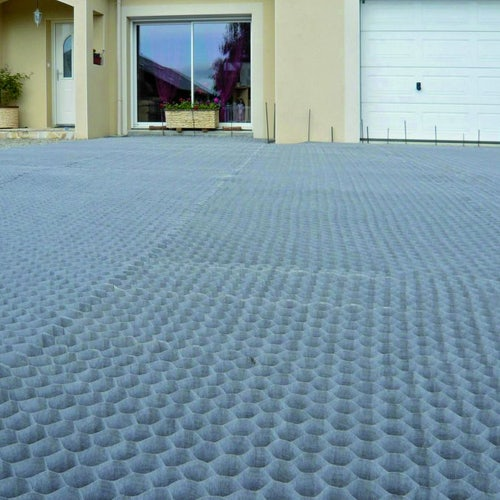 Ground Grid Gravel Guard Honeycomb Cellular Pathway 55mm x 50mm -10m2