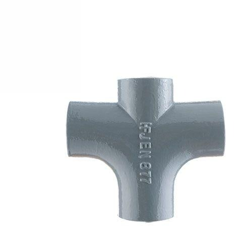 Cast Iron 88 Degree Double Radius Curve Drainage Pipe Branch - 100mm