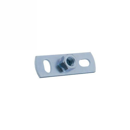 Zinc Plated Drainage Pipe Wall Plate - 80mm