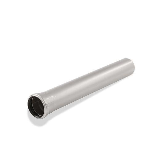 ACO 304 Stainless Steel Socketed Pipe with EPDM Seal 125mm x 1000mm