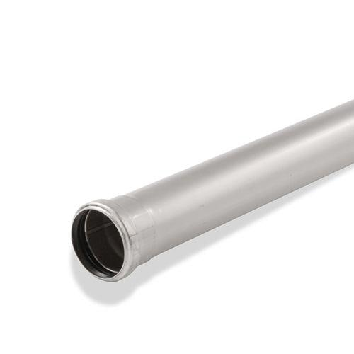 ACO 304 Stainless Steel Double Socketed Pipe EPDM Seal 125mm x 3000mm