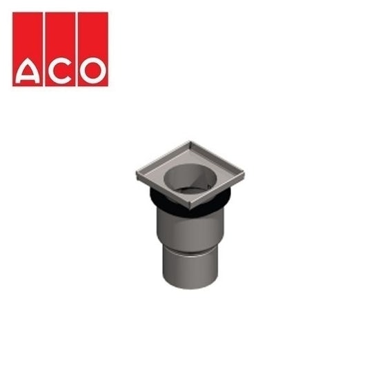ACO Gully EG150 Stainless Steel 316 Telecopic Vertical Outlet
