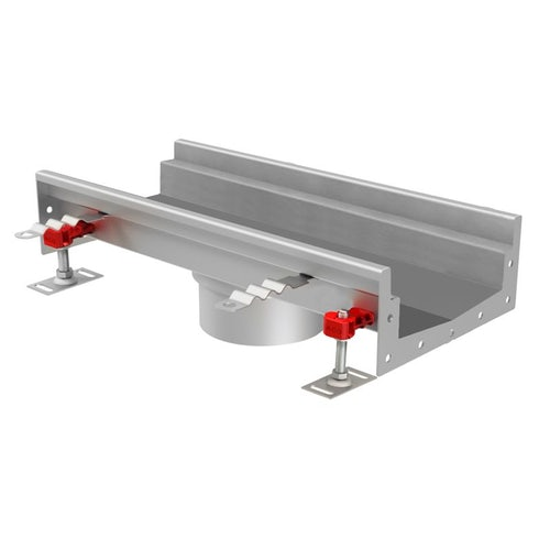 Internal Channel Drain 110mm Centre Outlet 500mm - ACO Modular 125