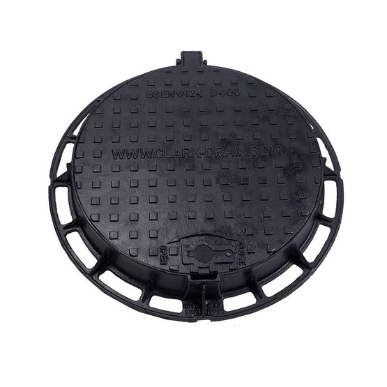 Circular Hinged Manhole Cover and Frame 600mm - D400 Load Class